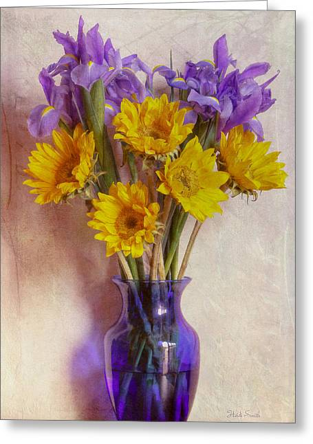 In The Mood For Spring Greeting Card by Heidi Smith