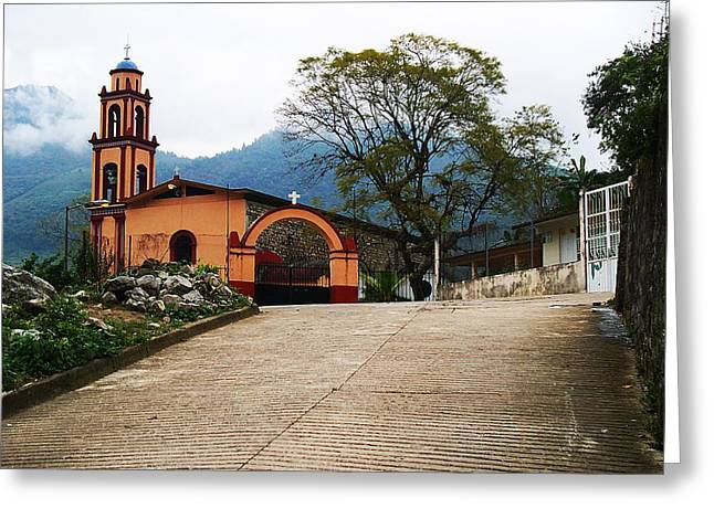 Greeting Card featuring the photograph In The Mountains Of Mexico by Joy Nichols