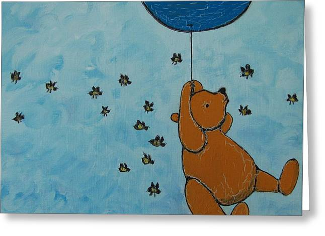 In The Pursuit Of Honey Greeting Card