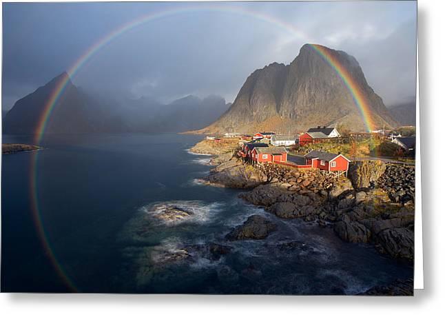 In The Rainbow Greeting Card by Nicolas Schneider
