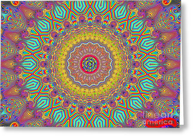 In The Zone Greeting Card by Bobby Hammerstone