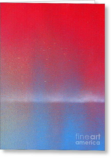 In This Twilight Greeting Card by Roz Abellera Art