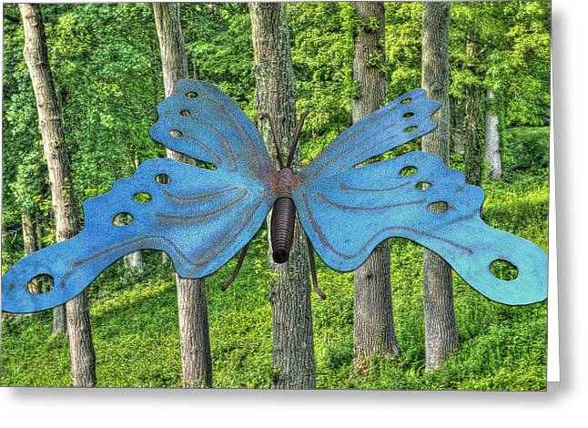 In To The Woods Greeting Card