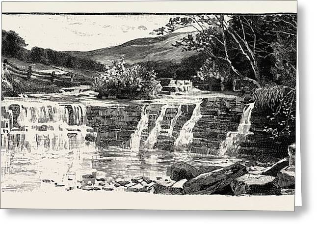 In Weardale, A Dale, Or Valley, Of The East Side Greeting Card by English School