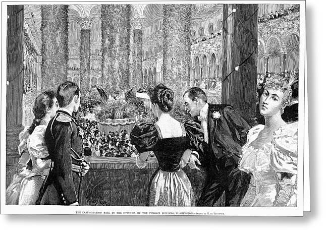 Inaugural Ball, 1893 Greeting Card by Granger