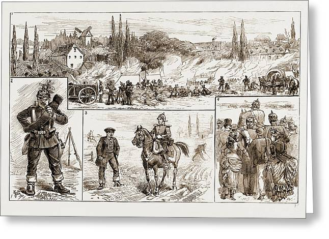 Incidents On The Field, Germany Greeting Card by Litz Collection