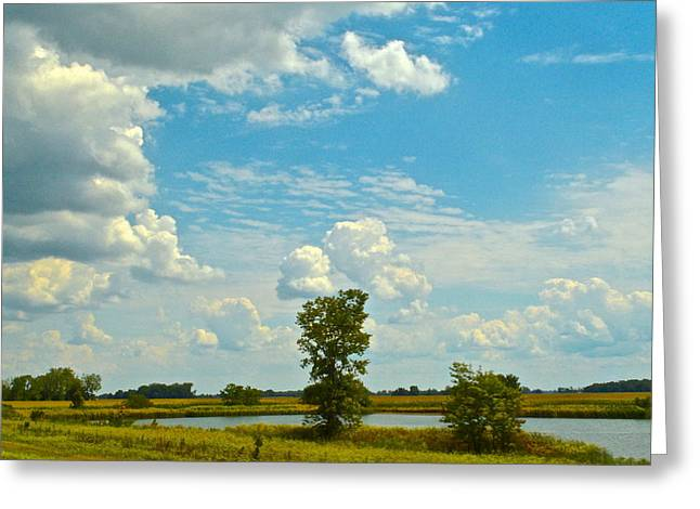 Incoming Greeting Card by Frozen in Time Fine Art Photography