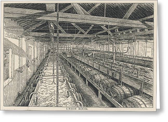Ind Coope Brewery, Burton Greeting Card by Mary Evans Picture Library