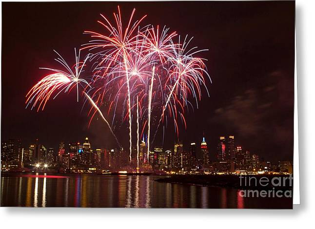 Independence Day Greeting Card by Kim Quintano