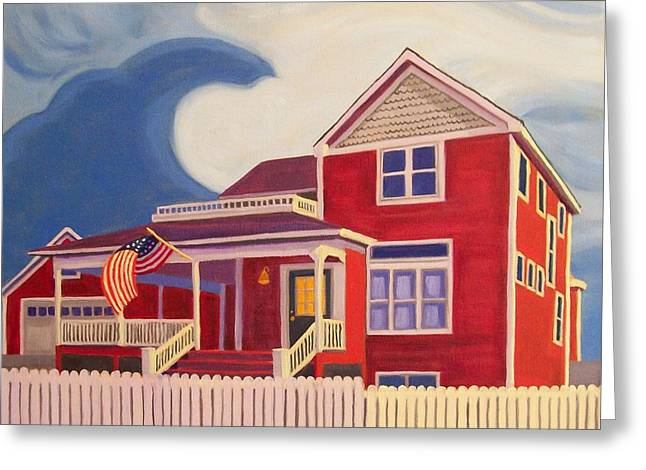 Independence Day Greeting Card by Ruth Soller