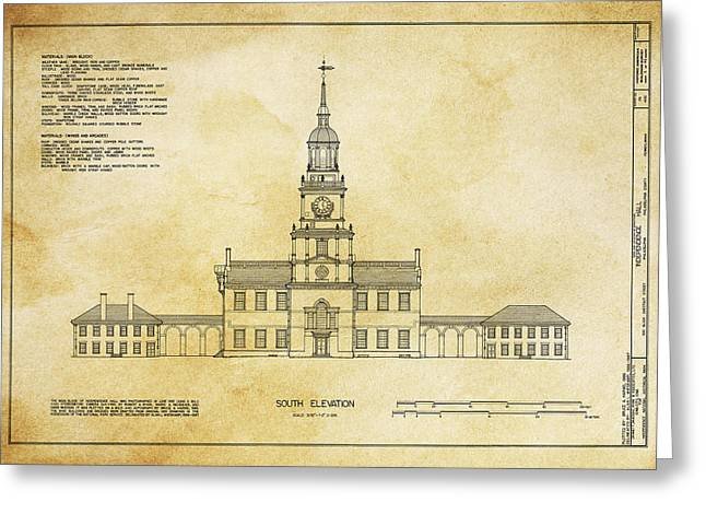Independence Hall - Philadelphia Greeting Card