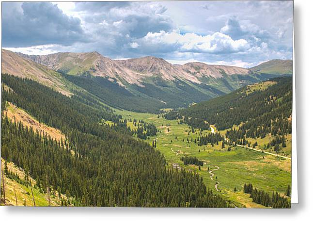 Independence In Colorado - Color Greeting Card