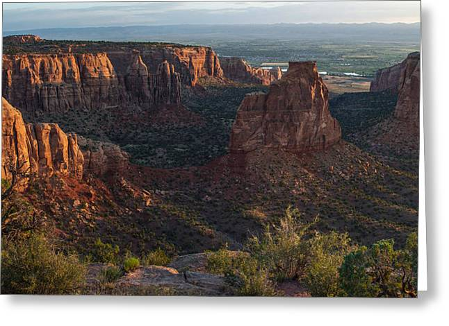 Independence Monument - Colorado National Monument Greeting Card by Aaron Spong