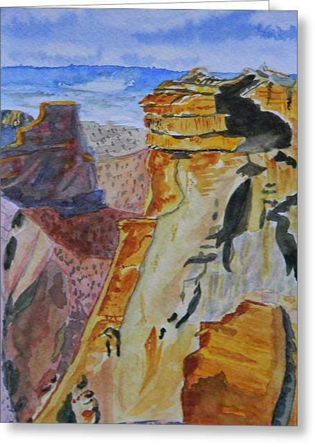 Independence Rock Greeting Card by Warren Thompson