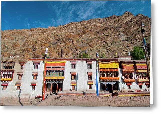 India, Jammu & Kashmir, Ladakh, Hemis Greeting Card