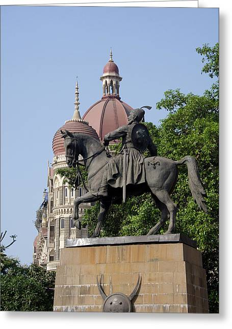 India, State Of Maharashtra, Mumbai Greeting Card by Cindy Miller Hopkins