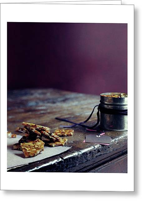 Indian Brittle Greeting Card