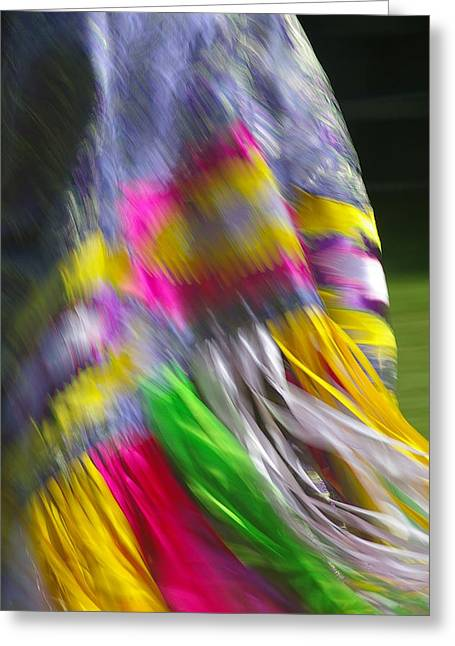 Greeting Card featuring the photograph Indian Dance by Randy Pollard