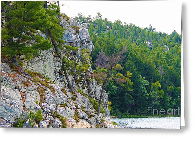 Indian Head In Killarney Greeting Card