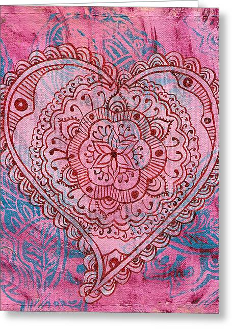 Indian Heart Greeting Card
