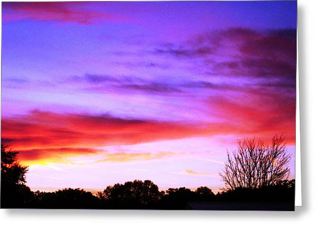 Indian Morning Sky Greeting Card