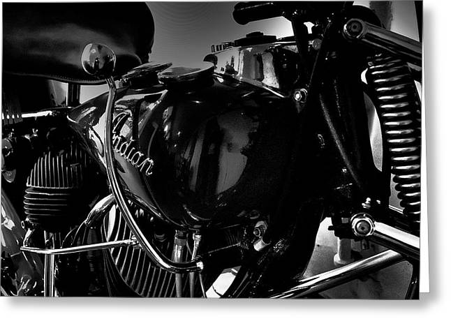 Indian Motorcycle II Greeting Card