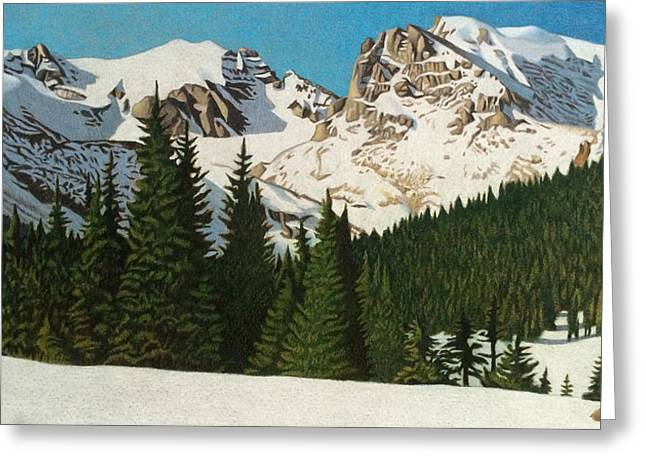 Indian Peaks Winter Greeting Card