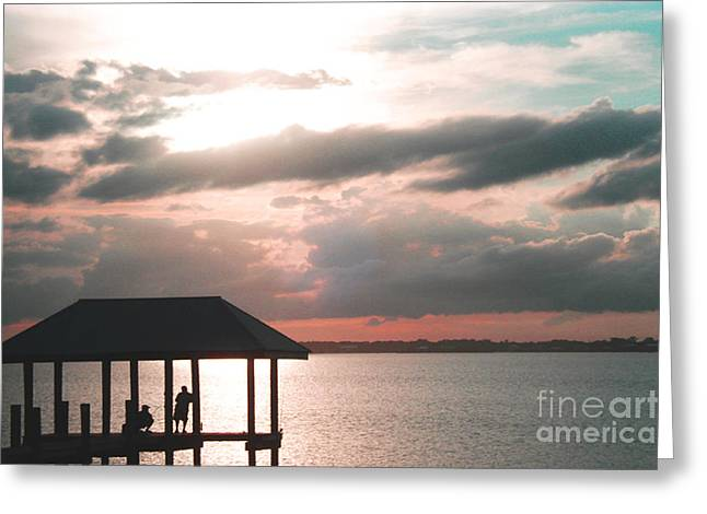 Greeting Card featuring the photograph Indian River Lagoon by Megan Dirsa-DuBois