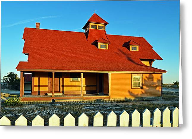 Indian River Lifesaving Station Museum Greeting Card