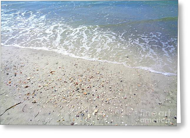Indian Rocks Shoreline Greeting Card