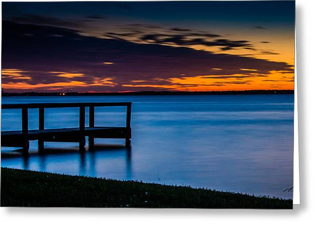 Indian Shores Dusk Greeting Card