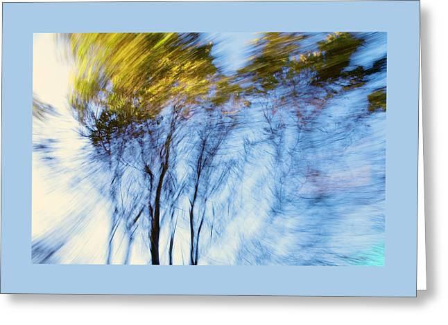 Autumn Wind Greeting Card by Daniel Furon