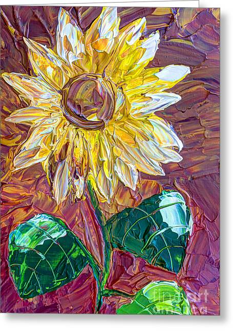 Indian Summer Greeting Card by Heidi Smith