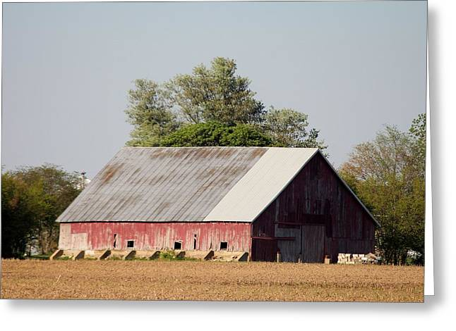 Indiana Barn 11 Greeting Card by Nelson Skinner
