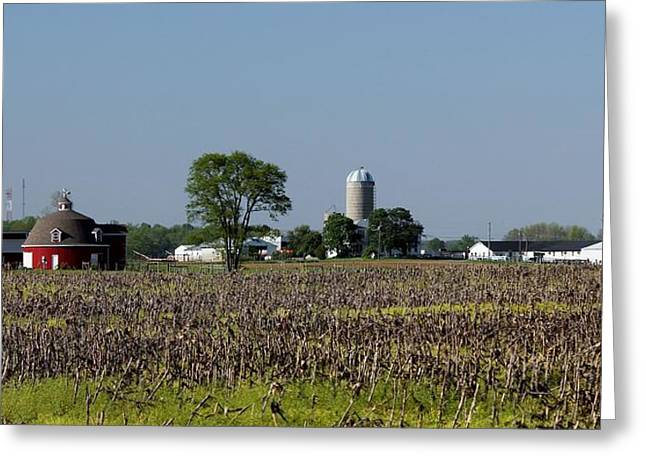 Indiana Barn 13 Greeting Card by Nelson Skinner