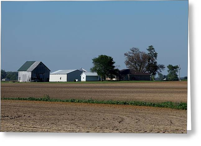 Indiana Barn 14 Greeting Card by Nelson Skinner