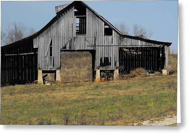 Indiana Barn 5 Greeting Card by Nelson Skinner