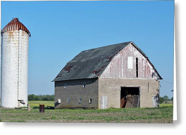 Indiana Barn 9 Greeting Card by Nelson Skinner