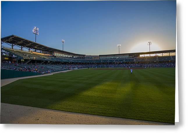 Indianapolis Indians Victory Field 4593 Greeting Card