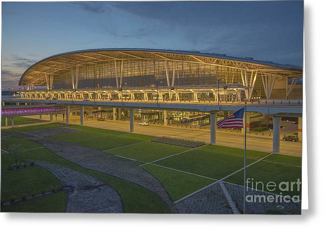 Indianapolis International Airport Greeting Card by David Haskett