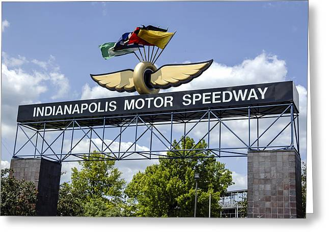 Indianapolis Speedway Greeting Card