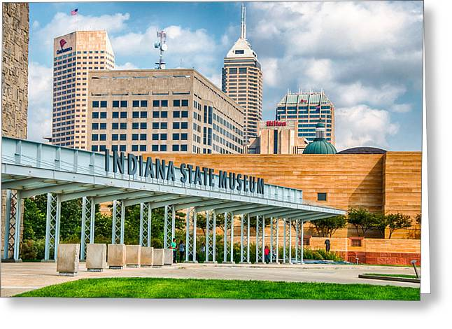 Indianapolis State Museum Greeting Card