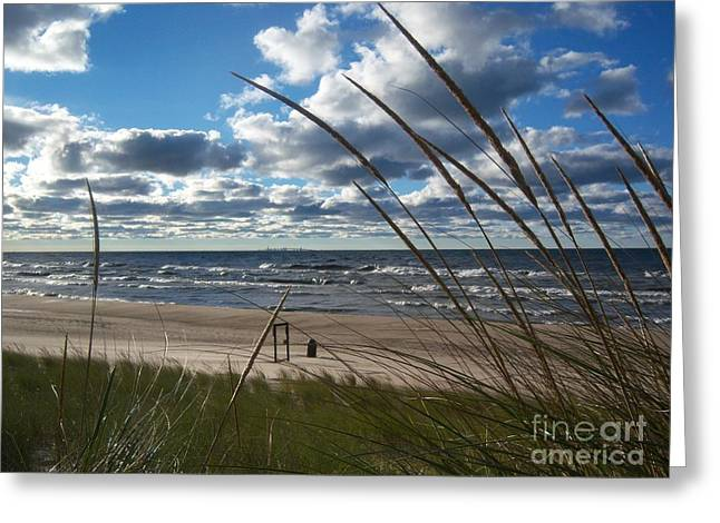 Indiana Dunes' Lake Michigan Greeting Card