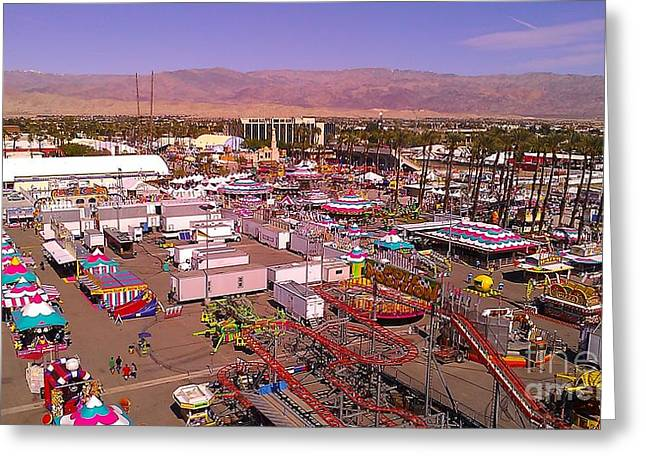 Indio Fair Grounds Greeting Card