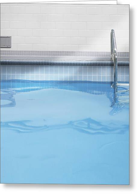 Indoor Swimming Pool Detail Toronto Greeting Card