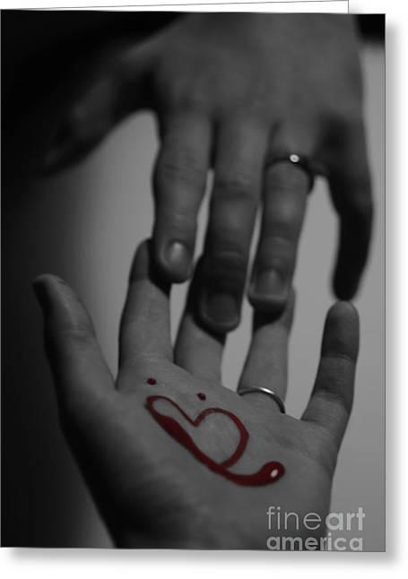 infidelity III Greeting Card