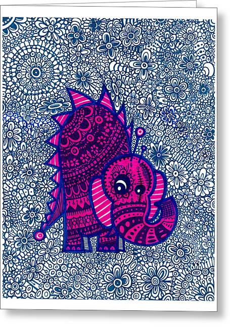 Infinite Pachyderm  Greeting Card