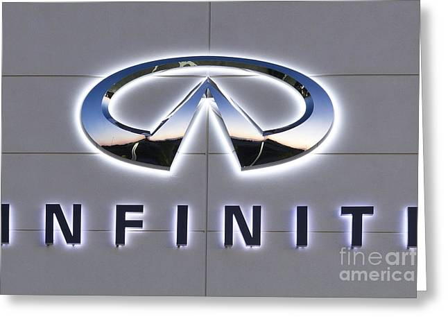 Infiniti Greeting Card