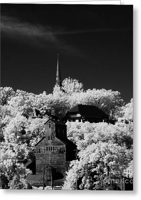 Infrared Stillwater Greeting Card