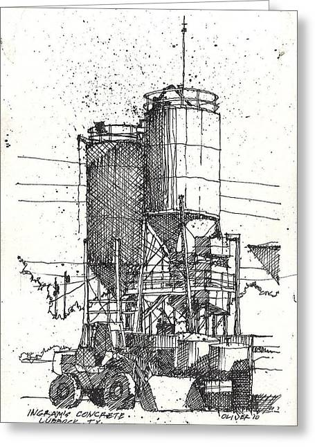 Greeting Card featuring the mixed media Ingram Plant 2 by Tim Oliver
